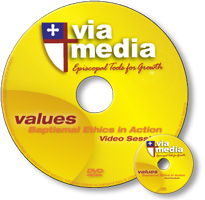 via media: values